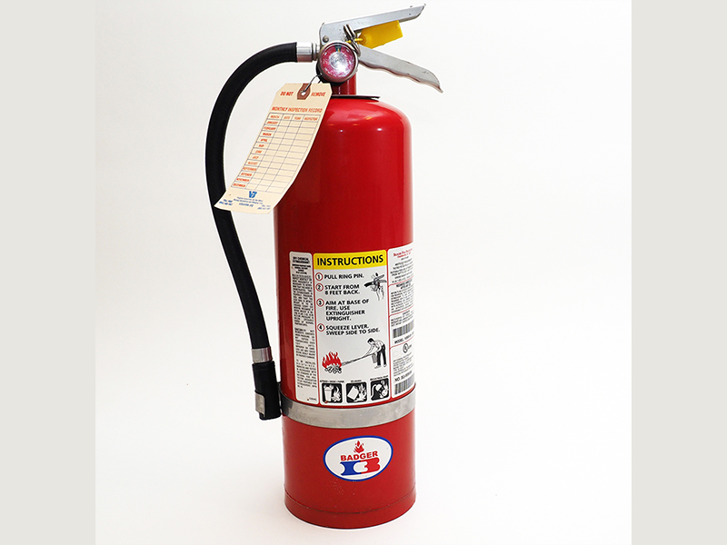 red fire extingisher